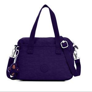 NWT Kipling Emoli Crossbody Bag Berry Blue